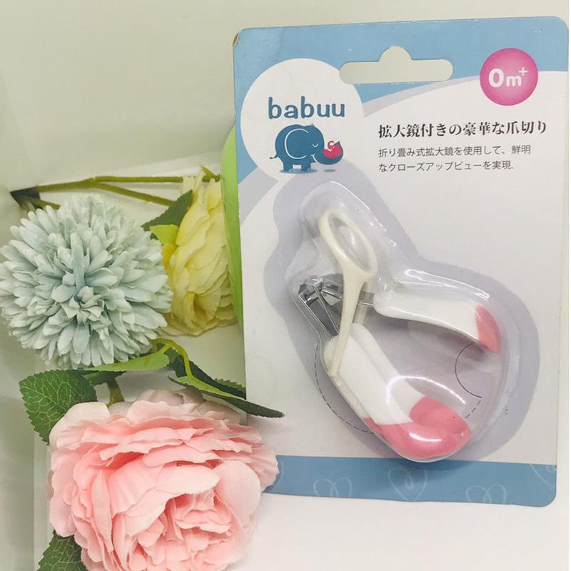 Bán buôn Bấm móng tay cho bé Babuu có kính lúp giá sỉ - tongkhothienan.com