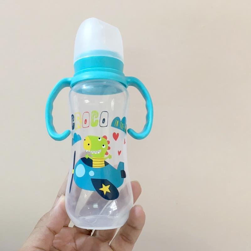Bình sữa PP tay cầm Babuu 120ml - tongkhothienan.com