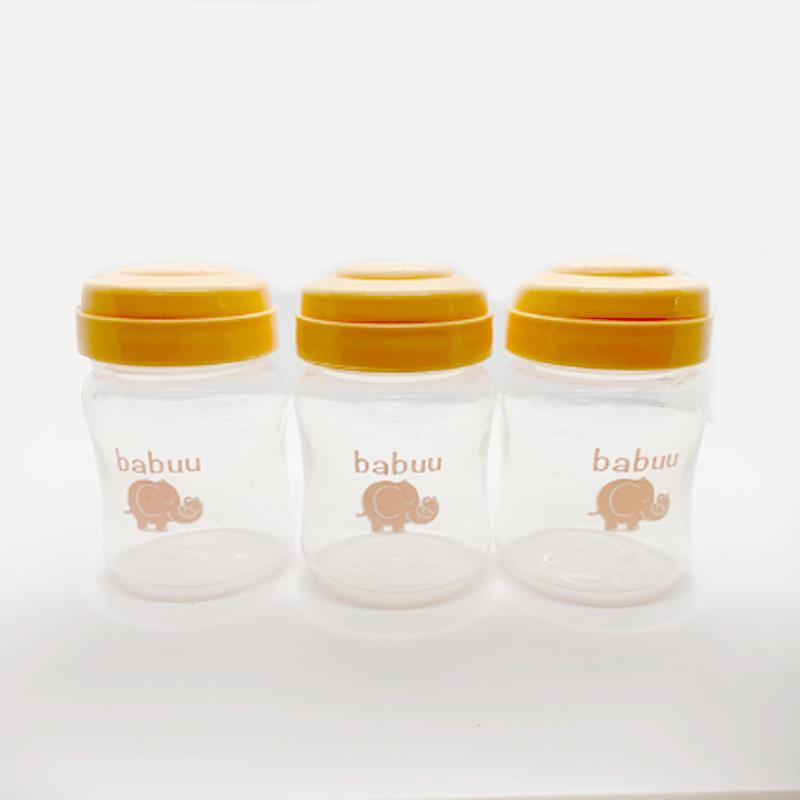 Bán buôn Bộ 3 bình trữ sữa Babuu 125ml giá sỉ - tongkhothienan.com
