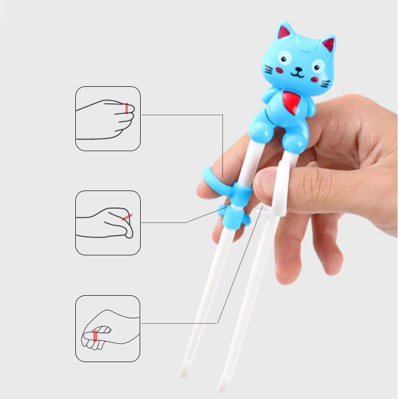 Bán buôn Bộ đũa thìa inox Happycat giá sỉ - tongkhothienan.com