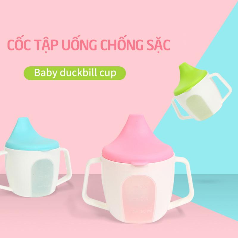 Bán buôn Cốc tập uống nước Babuu có núm chống sặc( mẫu mới) giá sỉ - tongkhothienan.com