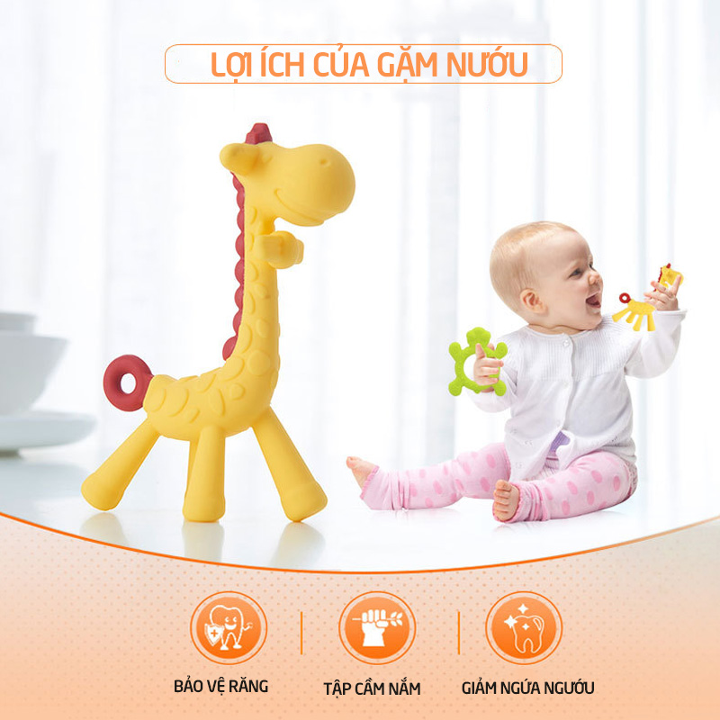 Bán buôn Gặm nướu cho bé hình hươu Babuu giá sỉ - tongkhothienan.com