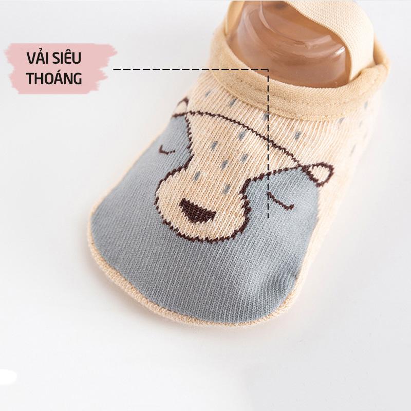 Bán buôn Giày tất tập đi cho bé có quai( mẫu mới) giá sỉ - tongkhothienan.com