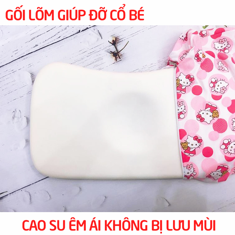 Bán buôn Gối cao su non cho bé Hiền Trang giá sỉ - tongkhothienan.com