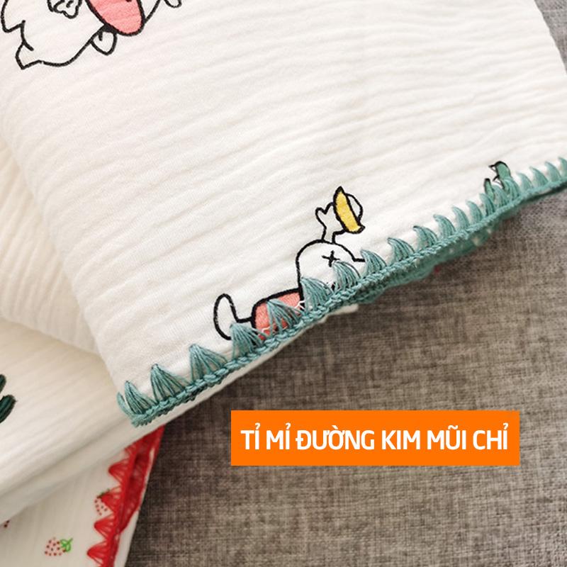 Bán buôn Khăn tắm cho bé sợi tre Wooji giá sỉ - tongkhothienan.com