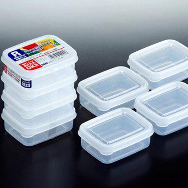 Bán buôn Bộ 4 hộp đựng thức ăn dặm Nakaya giá sỉ - tongkhothienan.com