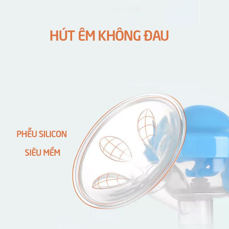 Bán buôn Máy hút sữa bằng tay Babuu tặng 6 túi trữ sữa giá sỉ - tongkhothienan.com