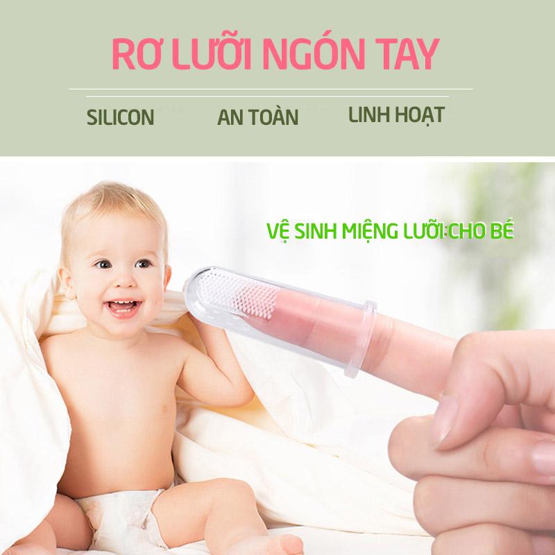 Bán buôn Rơ lưỡi cho bé Silicon giá sỉ - tongkhothienan.com