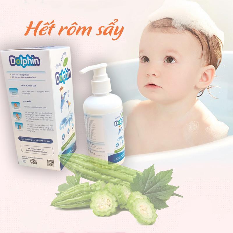 Bán buôn Sữa tắm thảo dược cho bé Dolphin giá sỉ - tongkhothienan.com