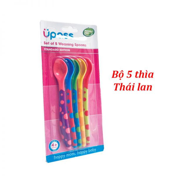 Bán buôn Vỷ 5 thìa ăn dặm Upass giá sỉ - tongkhothienan.com