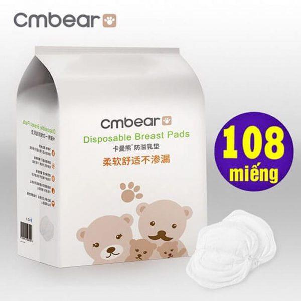 Bán buôn Miếng lót thấm sữa Cm Bear hộp 108 miếng giá sỉ - tongkhothienan.com