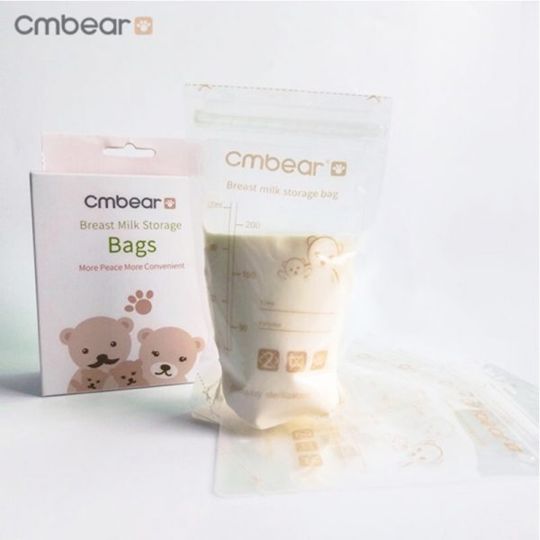 Bán buôn Túi trữ sữa Cm Bear 220ml (hộp 30 túi) giá sỉ - tongkhothienan.com