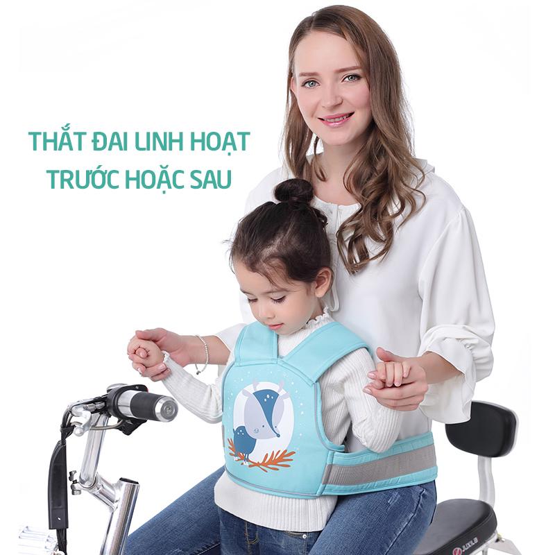 Bán buôn Đai địu đi xe máy an toàn cho bé yêu giá sỉ - tongkhothienan.com