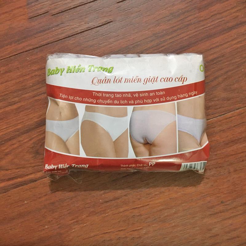 Bán buôn Gói 5 quần lót giấy sau sinh Hiền Trang giá sỉ - tongkhothienan.com