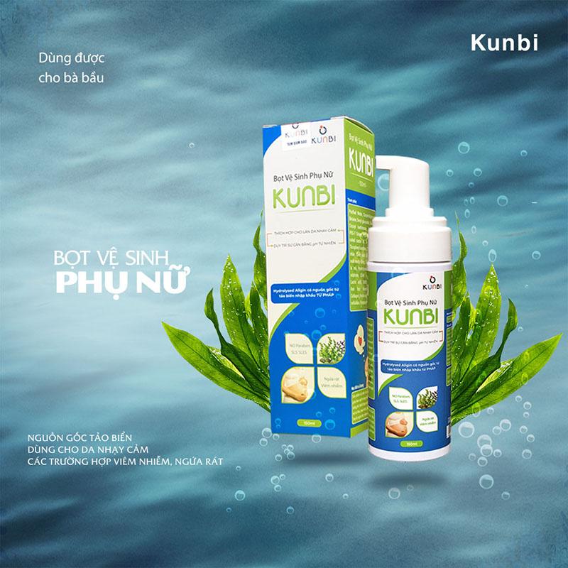 Bán buôn Dung dịch vệ sinh phụ nữ cho bà bầu Kunbi giá sỉ - tongkhothienan.com