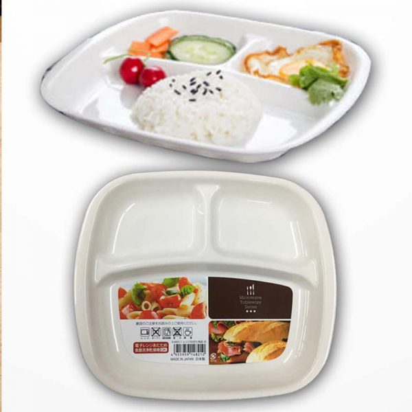 Bán buôn Khay ăn dặm cho bé Nhật Inomata( mẫu vuông) giá sỉ - tongkhothienan.com