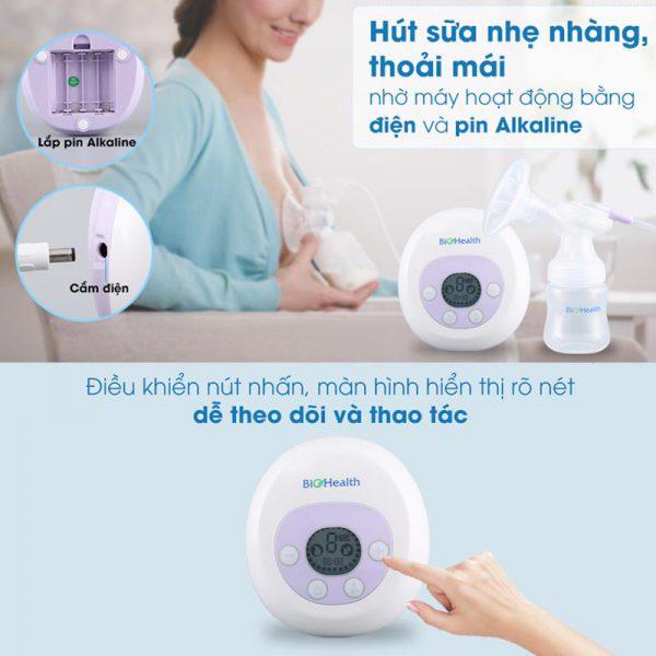 Bán buôn Máy hút sữa điện đơn Bio Health giá sỉ - tongkhothienan.com