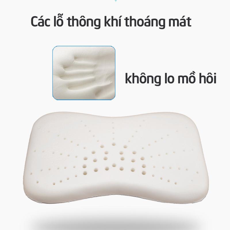 Bán buôn Gối cao su non cho bé Wooji giá sỉ - tongkhothienan.com