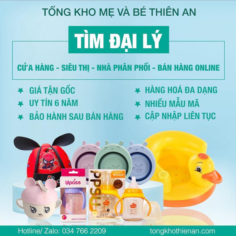 Tổng kho sỉ đồ sơ sinh nguồn hàng đồ mẹ và bé giá tốt Thiên An - tongkhothienan.com