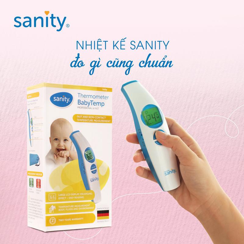Bán buôn Nhiệt kế hồng ngoại đa năng Sanity giá sỉ - tongkhothienan.com