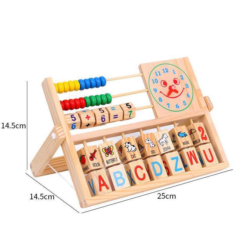 Đồ chơi kệ gỗ học tập thông minh - tongkhothienan.com