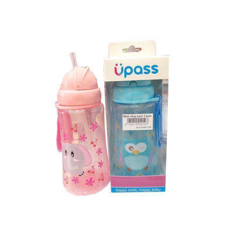 Bán buôn Bình uống nước cho bé hình thú Upass 300ml giá sỉ - tongkhothienan.com