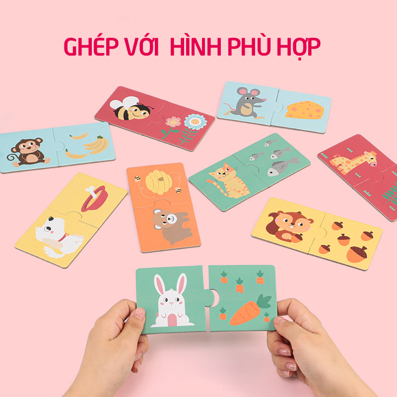 Đồ chơi ghép hình thông minh Kabi - tongkhothienan.com