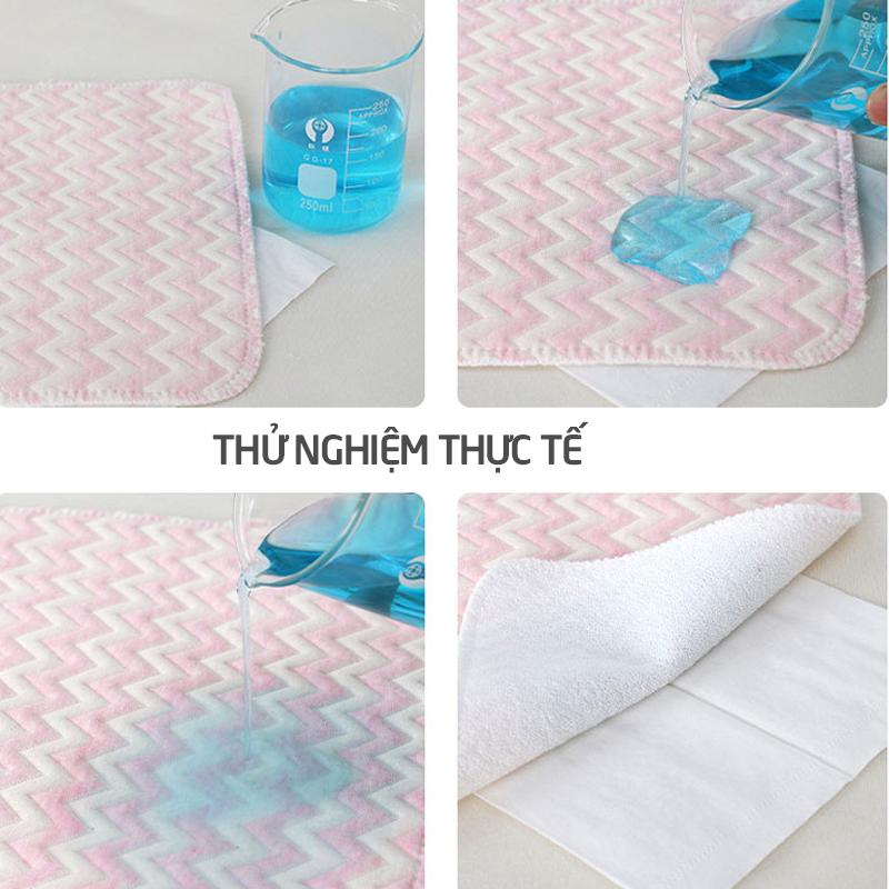 Bán buôn Lót chống thấm sợi tre 4 lớp Wooji 50x70cm giá sỉ - tongkhothienan.com