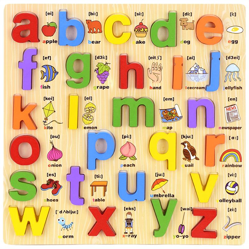 Bảng chữ cái song ngữ chữ thường - tongkhothienan.com