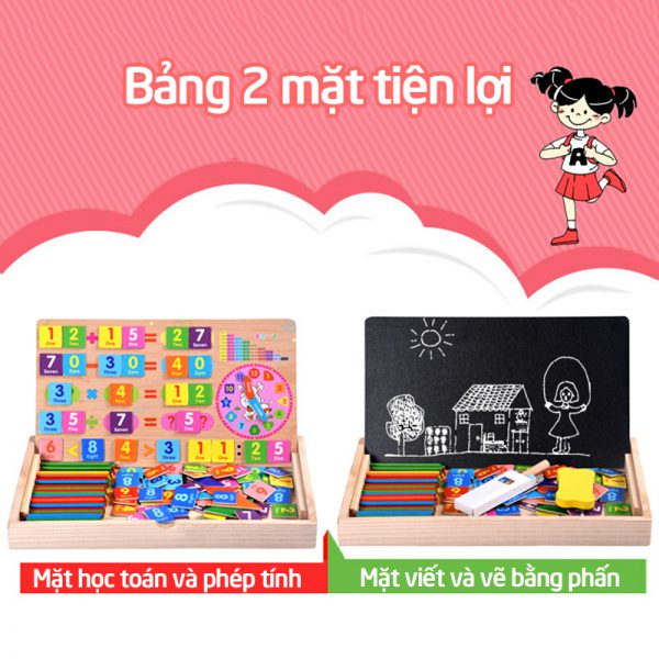Bán buôn Bảng toán học thông minh chữ số kèm que tính giá sỉ - tongkhothienan.com