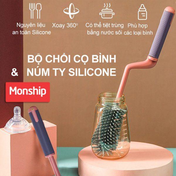 Bán buôn Cọ bình sữa silicon cho bé giá sỉ - tongkhothienan.com