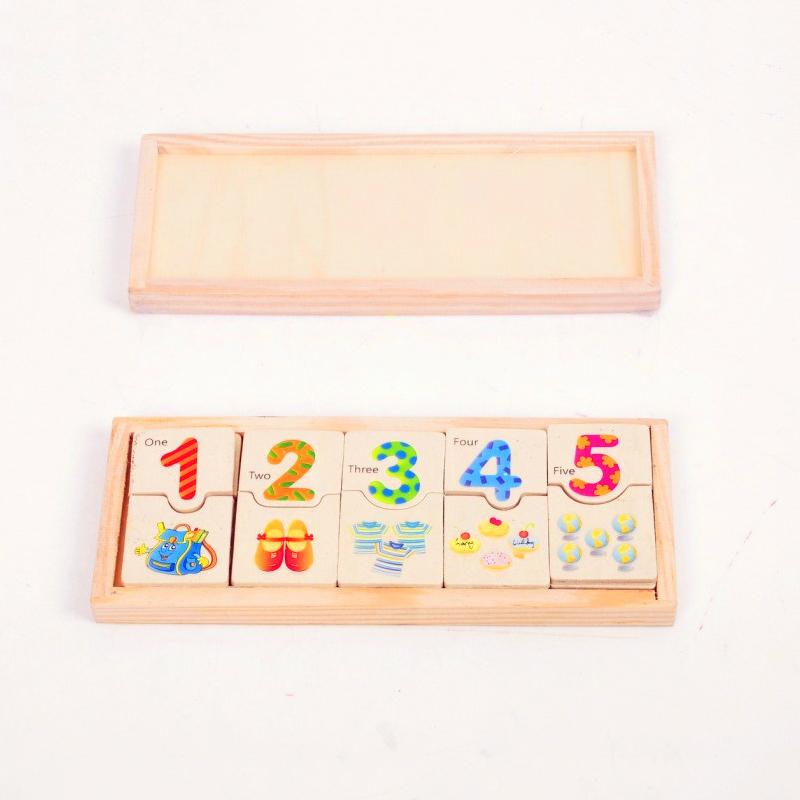 Thẻ học đếm số gỗ thông minh - tongkhothienan.com