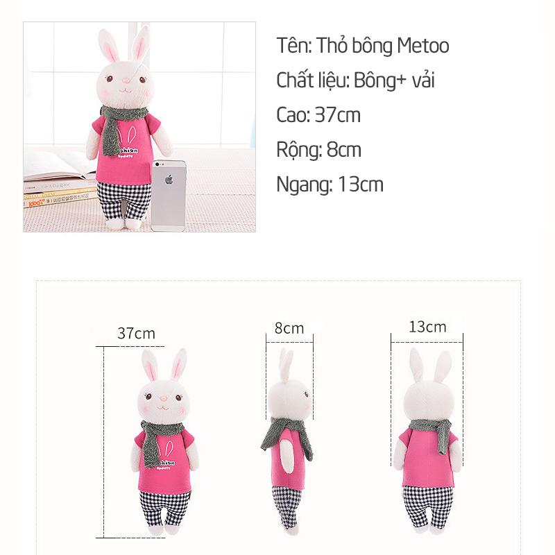 Thú nhồi bông thỏ Metoo cho bé - tongkhothienan.com