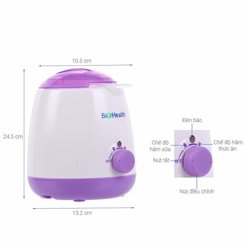 Bán buôn Máy hâm sữa và tiệt trùng Bio Health giá sỉ - tongkhothienan.com