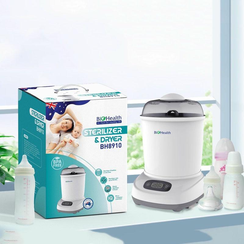 Bán buôn Máy tiệt trùng và sấy khô bình sữa BioHealth giá sỉ - tongkhothienan.com