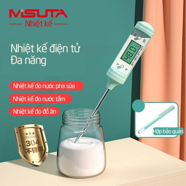 Nhiệt kế đo nước pha sữa, đo nước tắm Misuta - tongkhothienan.com