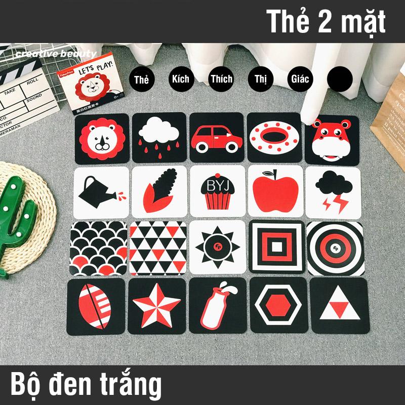 Bán buôn Bộ thẻ kích thích thị giác cho bé giá sỉ - tongkhothienan.com