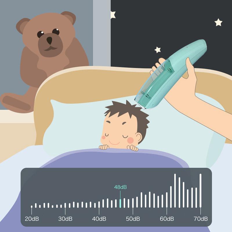 Tông đơ cắt tóc cho bé Misuta có hút tóc và phụ kiện đi kèm - tongkhothienan.com