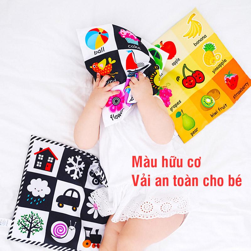 Bán buôn Tranh vải kích thích thị giác cho bé Lalarose giá sỉ - tongkhothienan.com