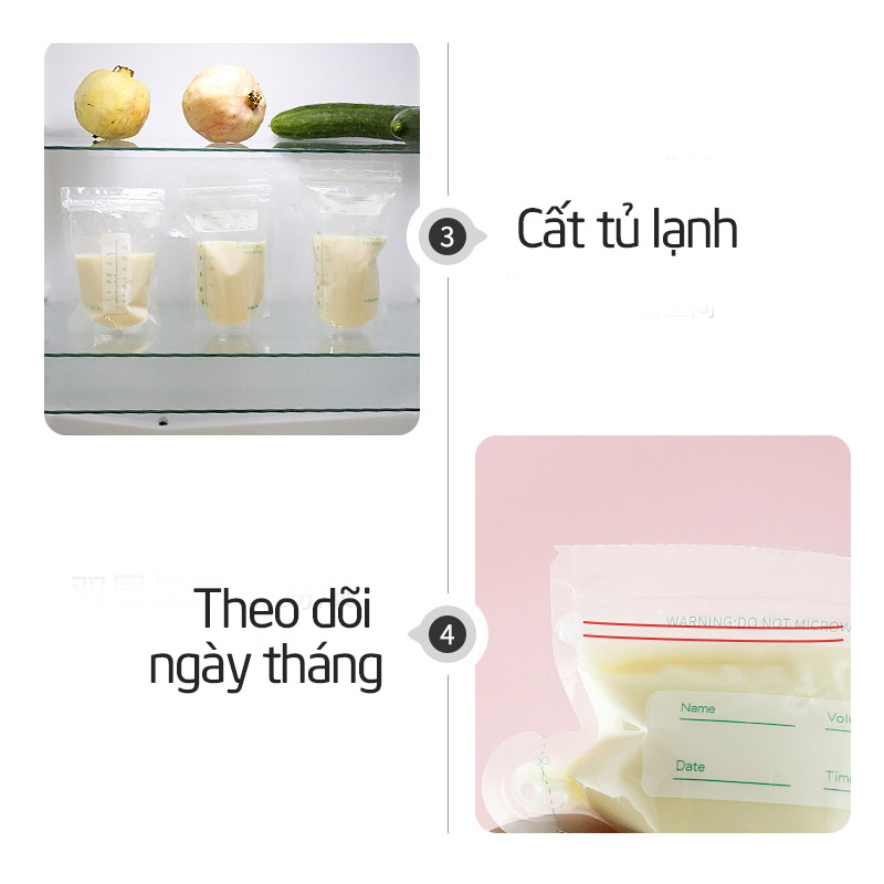 Túi trữ sữa mẹ Misuta hộp 30 túi - tongkhothienan.com